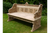 Teak Wood Hand Carved Ornate Bench