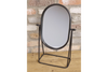 Grand Elegant Table Freestanding Oval Mirror