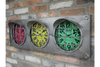 Traffic Light Clock time with traffic signal