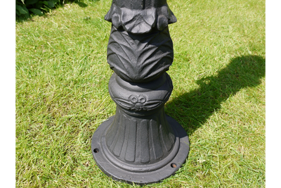 Antique Victorian Cast Iron Grey Finished Car Park Bollard