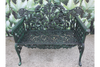 Green & Black Finished S13 Iron Bench