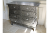 Indian Chaandhi Design Embossed Bedside
