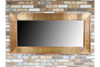 Fabulous Large Copper Finished Rustic Rectangle Mirror