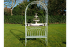 Arch & Seat to enjoy your garden
