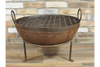 Sturdy Outdoor Garden Iron Cast Fire Pit