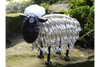 Realistic looking Garden Ornament Metal Sheep (Small)