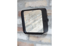Small Vintage Square Cornered Industrial Mirror