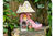 Shoe Heel Fairy House Garden Sculpture Decorative Ornament
