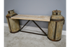 Wooden Original Milk Churn Bench