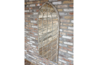 Large Wall Mounted Stylist Lovely Arch Mirror