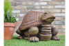 Outdoor Garden Cute Resin Made Turtle Stool