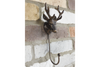 Lovely Bronze Stag Hook