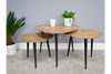 Ava End Wooden 3 Set tables