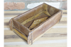 Hardwood Wooden Single Dark Brown Brick Mould