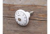 Ceramic clock style Pull Handle