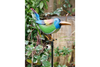 Lovely Colorful Bird On Stake Garden Ornament
