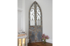 Fabulous Arched Design Large Rustic Door Mirror