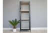 Distressed Finished Industrial Bookcase Cabinet