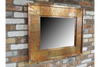 Gorgeous Rustic Copper Wall Vintage Mirror