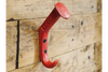 Contemporary Red Color Railway Coat Hook