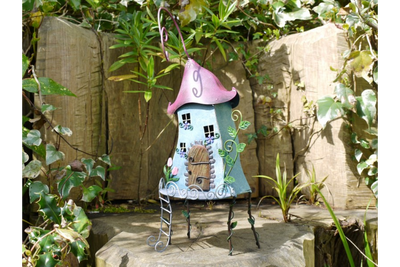 Beautifully Detailed Ornate Garden Fairy Tree House