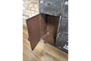 Curved Shape Retro Industrial Cabinet/Sideboard With Wheels