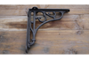 Heavy Black Baroque Style Heavy Shelf Bracket