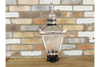 Retro Look Outdoor Small Stainless Steel Lamp Top