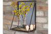 Classic Style Mirror With Wooden Shelf