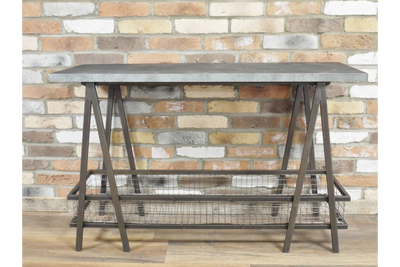 Georgian Acepello Industrial Side Table