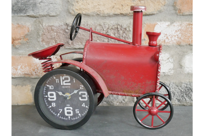 Magnificent Tractor Clock