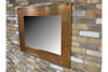 Landscape Rectangular Rustic Copper Finished Mirror