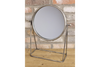 Silver Patina Rustic Vintage Beautiful Freestanding Mirror