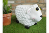 Funky White Gorgeous Outdoor Sheep Stool