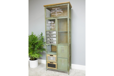 Heavy & Strong Metal Frame Industrial Cabinet