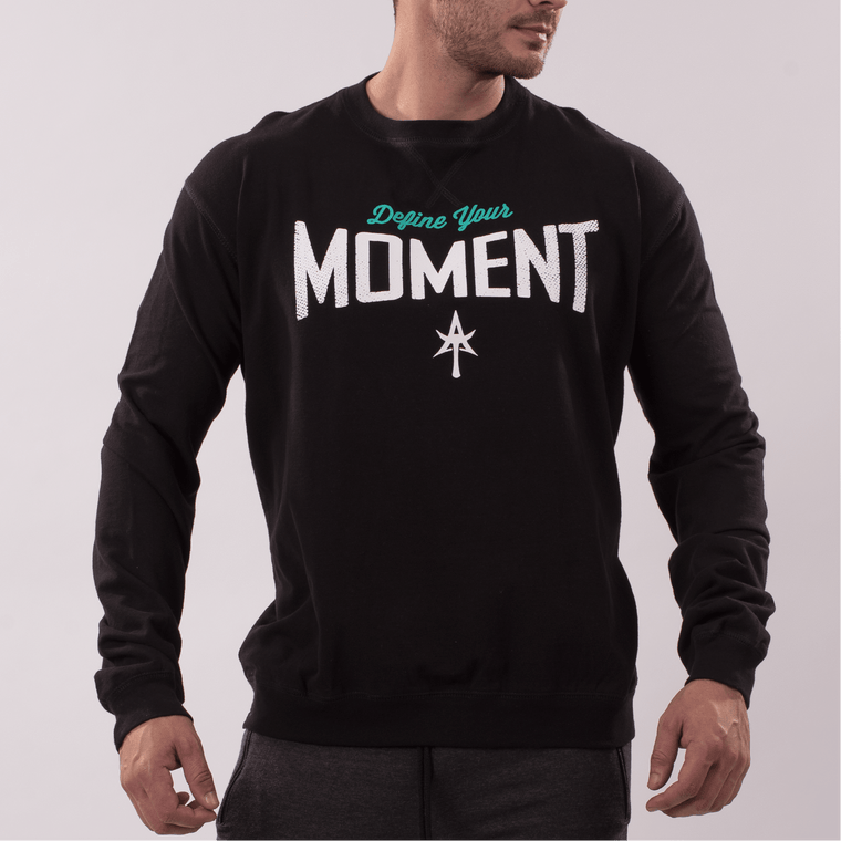 DEFINE YOUR MOMENT SWEATSHIRT