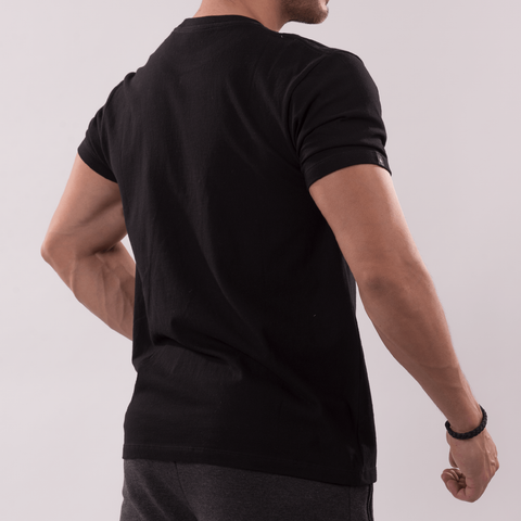 GYM  KILLA Crew Neck Tee black