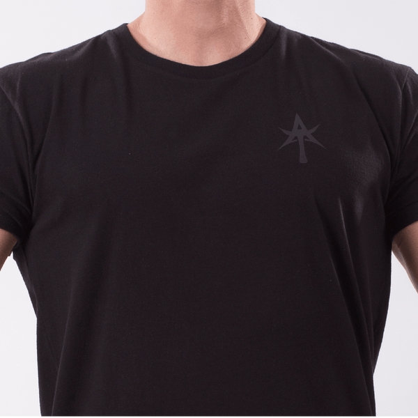 AT Long Lenght Curved tank Crew Neck Tee