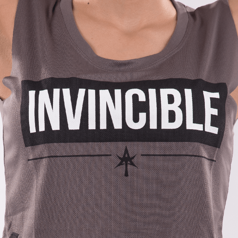 INVINCIBLE crop top