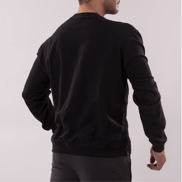 AT CIRCLE Men Sweat shirt black