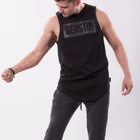 BEASTIN Long Lenght Curved tank Top