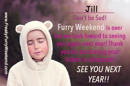 Furry Weekend Postcard
