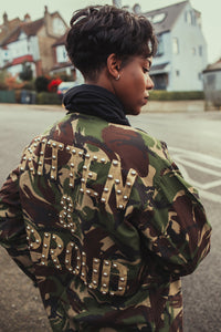 Killing Kittens x Bird + Wolf Camo Jacket