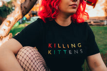 Load image into Gallery viewer, Killing Kittens PRIDE T-Shirt - Black