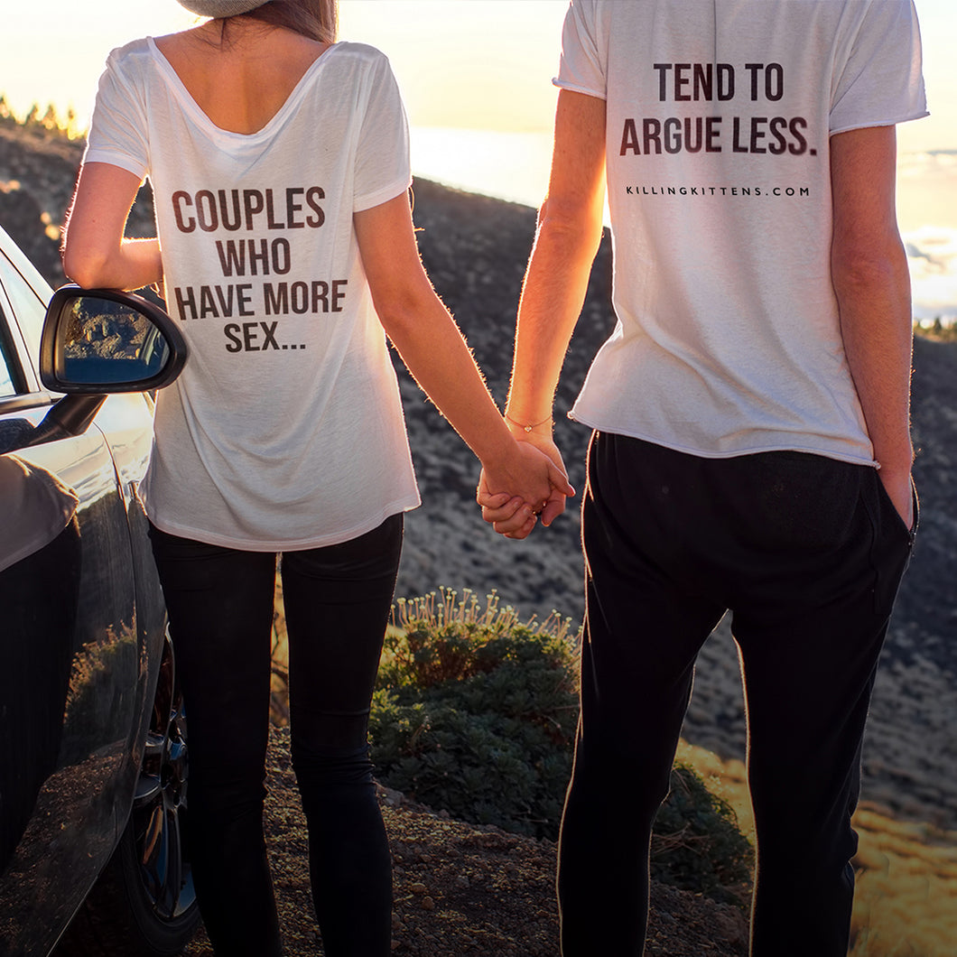 Couples T-shirt Set
