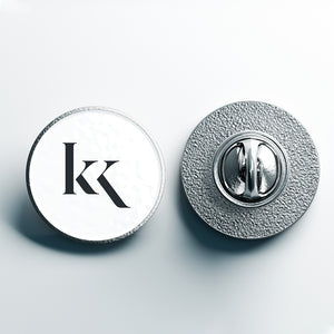 Pin Badge - Silver