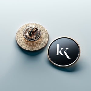 KK Pin Badge- Gold