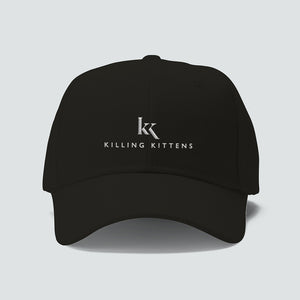 Cap - Full logo (White on black)
