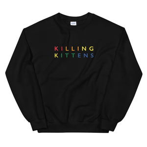 Killing Kittens PRIDE Sweatshirt in Black