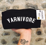 YARNIVORE Project Bag/Pencil Case - Cotton Zip Up Bag